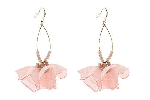 Lizas Ohrringe Pretty Pink Flowers gold pink