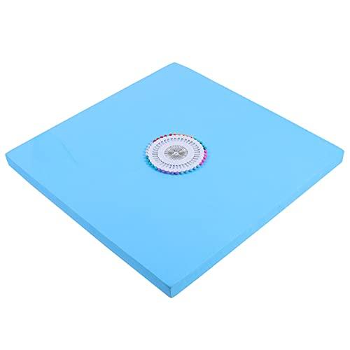 Artibetter Cable de Cuentas Placa de Trenzado de Disco Kumihimo Disk Telares Placa Trenzada Cuadrada con Pin de Posicionamiento para DIY Pulsera Herramientas de Tejido 30Cm