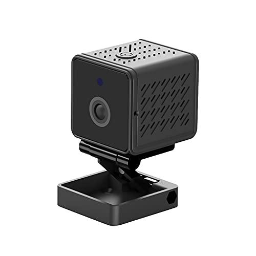 TENKY Mini Cámara Tuya Smart Life Cámara de Seguridad Oculta HD de 1080P Mini Alarma de Cámara WiFi Reconocimiento Humano/Control de Aplicaciones/Visión Nocturna