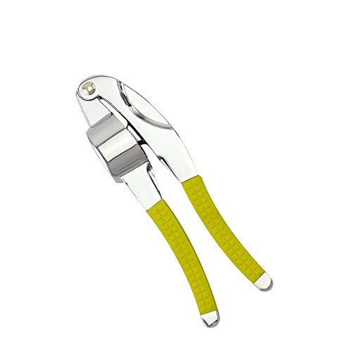 TIAN CHEN Garlic Mincer, Heavy Duty Metal, Ginger, Grillers Garlic Press Crusher With Soft Handle, Durable Kitchen Utensils Gadget
