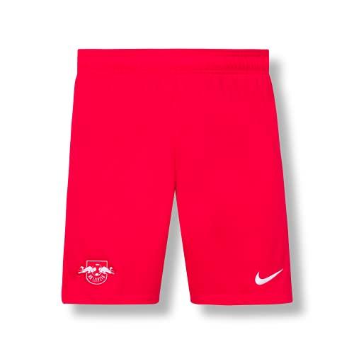 RB Leipzig Nike Youth Home - Pantalones cortos 21/22, para niño, rojo, 12 Años