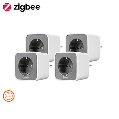 Osram Smart+ Plug Zigbee, Presa Intelligente, 4 Pezzi
