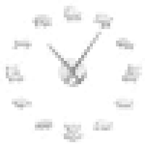 hufeng Reloj de Pared Jabalí Cerdo Cub Cochinillo de Gran tamaño 3D DIY Reloj de Pared Vida Silvestre Bosques Animal Arte de la Pared Decoración Reloj Reloj con Efecto Espejo