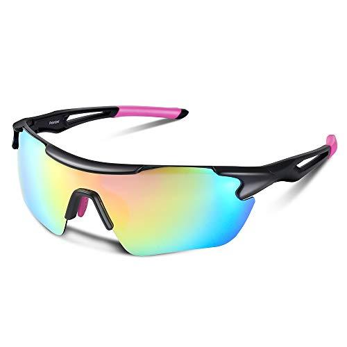Gafas de Sol Polarizadas Hombre con Protección UV400, Gafas del Sol Deportivas...