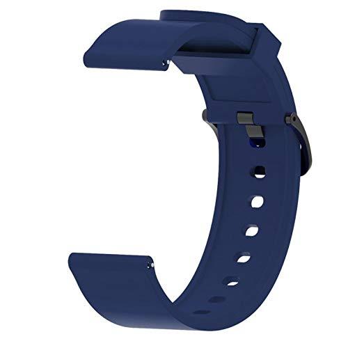 TGGFA Para Huawei Watch GT2 Strap 42mm Reloj de Silicona brazaletes Brazalete de 20 mm Correa de Reloj para Galaxy Watch Active 2 para Amazfit BIP