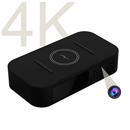 ワイヤレス充電器式隠しカメラとは、4k解像度のJOZAVTEE超小型カメラ、暗視・移動体検知アラーム機能・オーディオ機能を有する隠しカメラ、160度の広角レンズを用いてリアルタイムに監視と録画可能で、お宅の財産、幼児、ペットの安全を確保することができます