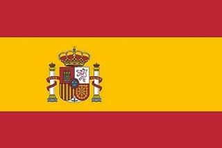 Alta calidad de la bandera de España 90 x 150 cm reforzado Hissband