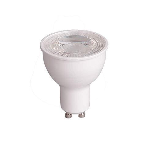 Bombilla LED Inteligente Prolight GU10, blanco cálido 4,8W, Compatible con Alexa y Google Home