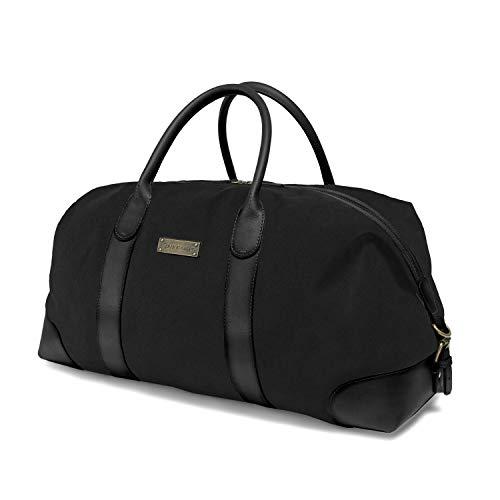 DRAKENSBERG Duffel Weekender - große Reisetasche im Retro-Vintage-Design, Damen und...