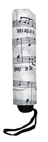 Taschenschirm I´m Singing in The rain weiß
