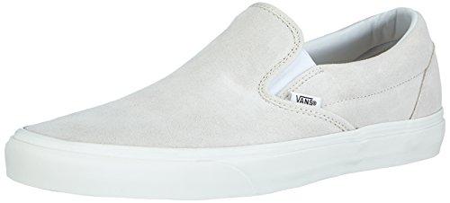 Vans U CLASSIC SLIP-ON Unisex-Erwachsene Sneakers, Weiß ((Vintage) true white/blanc), 43 EU