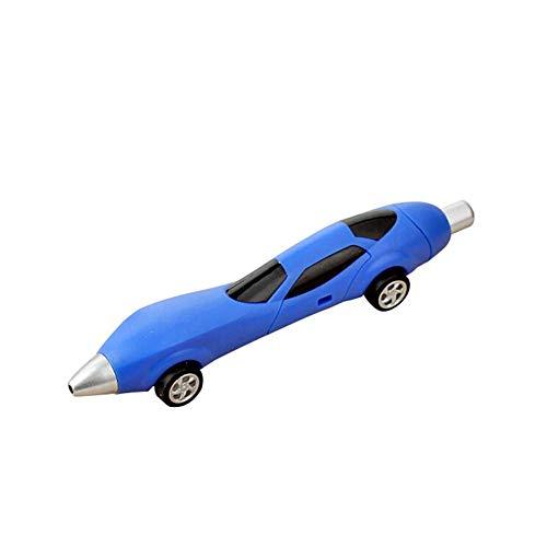 Ogquaton Juguetes de moda de calidad superior Bolígrafo con forma de coche de carreras Bolígrafo de regalo Novedad Color aleatorio