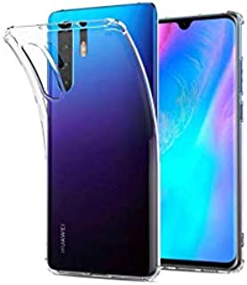 KuGi Ultra-thin Soft TPU Gel Cover (Slim-Fit) (anti-Scratch) (Shock absorption) Designed for Huawei P30 pro Smartphone - C...
