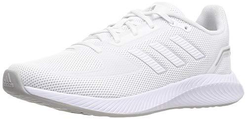 adidas RUNFALCON 2.0, Zapatillas de Running Mujer, FTWBLA/FTWBLA/Plamet, 39 1/3 EU