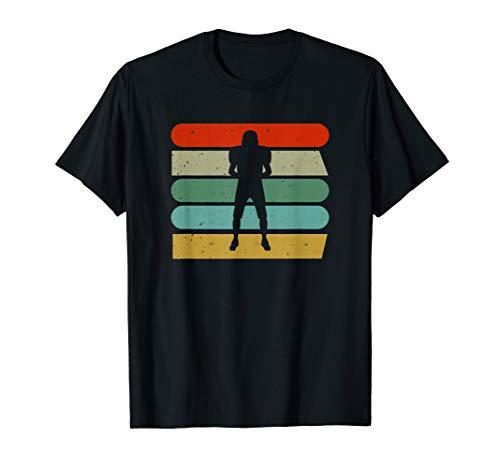 40YARDS American Football Defense Spieler Design T-Shirt