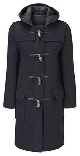 Original Montgomery Duffle Coat Pour Femme - Bleu Marine - 40 (Taille 16)