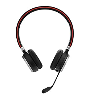 Jabra Evolve 65 MS Wireless Headset, Stereo – Includes Link 370 USB Adapter – Bluetooth Headset with Industry-Leading Wireless Performance, Advanced Noise-Cancelling Microphone, All Day Battery (B00ODRSN0A) | Amazon price tracker / tracking, Amazon price history charts, Amazon price watches, Amazon price drop alerts