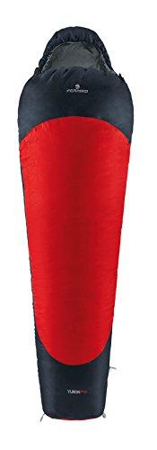 Ferrino Yukon Pro Maxi, Sacco a pelo Rosso, 230x90x60 cm