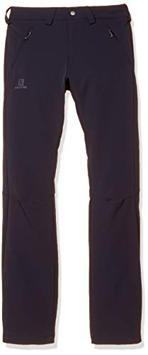 SALOMON Wayfarer Warm Pant M Straight Homme, Homme, Night Sky, 40/R