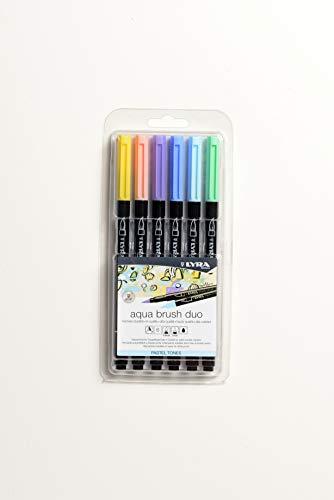LYRA L6521061 Aqua Brush Duo Tonos pastel Pack 6