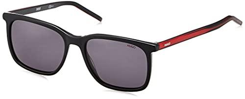 HUGO HG 1027/S, Gafas de Sol Hombre, Nero Rosso, 55