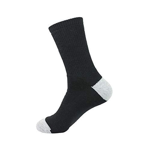Threads4Treads 10Pk Moisture Wicking Mens Athletic Socks Cotton Mens Work Socks