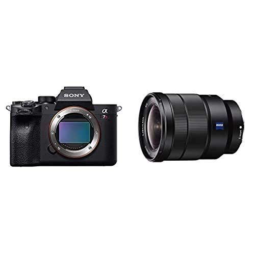 Sony α7R IV Full-Frame Mirrorless Interchangeable Lens Camera (ILCE7RM4/B) with Sony 16-35mm Vario-Tessar T FE F4 ZA OSS E-Mount Lens