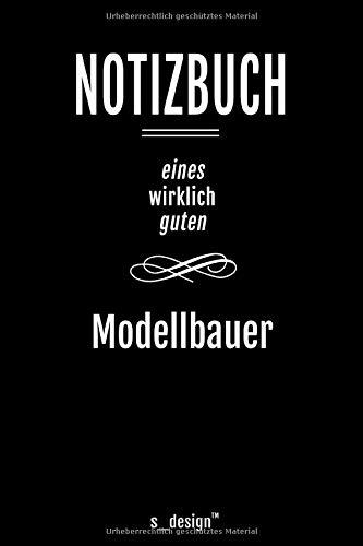 Notizbuch für Modellbauer: Originelle Geschenk-Idee [120 Seiten kariertes blanko Papier]