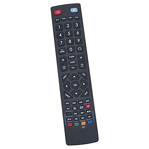 ALLIMITY Sostituzione del Telecomando per AKAI LED LCD TV 185-194J-GB-4B-HCDU-UK 215-194J-GB-4B-FHCDU-UK 23-157J-GB-3B-HKDU-UK 32-126J-GB-5B-HCU-UK 40-126J-GB-5B-FHCU-UK