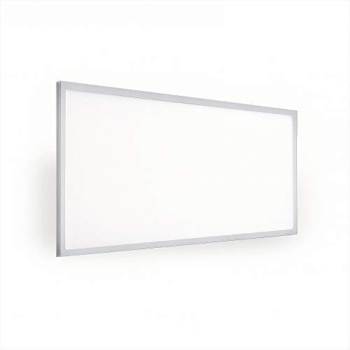 Mextronic Lámpara colgante LED, panel colgante, 120 x 60, 50 W, 6500 lm, 860, color blanco