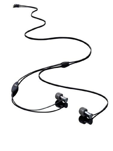 ULTRASONE TiO In Ear Kopfhörer in Schwarz | High end-Kopfhörer für außergewöhnlichen Sound | Mit professionellem Mikrotreiber (Balanced-Armature)