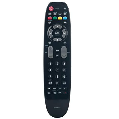 ALLIMITY RL67H-8 Fernbedienung Ersetzen für Changhong LED TV 28C2000H EC32H4DN EC47F4N LED19T868 LED28C2200P LED29A6500H LED32C2000H LED32C2200H LED39D2200HD LED40D2080ST2