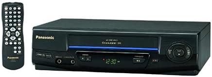 Panasonic PV-V4021 4-Head VCR (1999 Model)