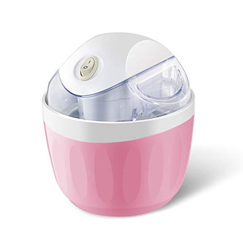 Eismaschine, Slush Maschine Ice Cream Maker Speiseeis Bereiter Sorbet Maschine Softeis Eiscreme Maschine, Einfache Bedienung, Mit Mischen Paddles, Für Hausgemachte Frozen Yogurtpink