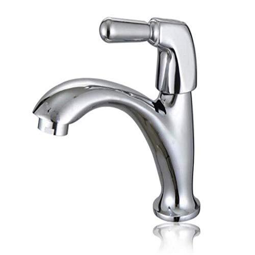 Wasserhähne mit langem Hals, Wasserfallchrom, für die Küche, Wasserhahn, schwenkbar, Wasserhahn für Waschbecken, einfache Öffnung, Einhebelwaschbecken