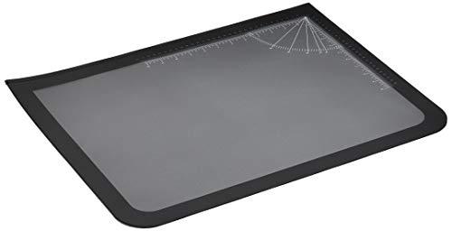 "Artistic Office Products 17"" x 22"" Logo Pad Lift-top Desktop Organizer Desk Mat, Black/Clear"
