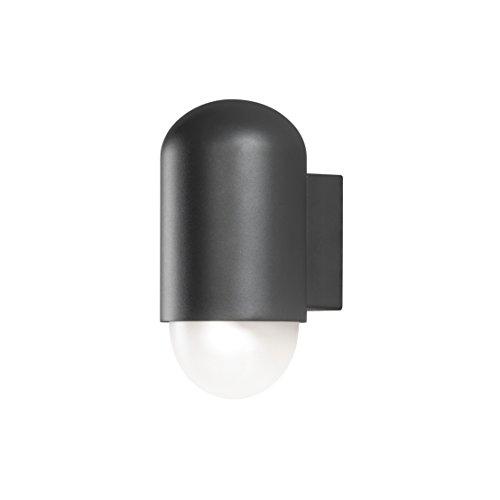 Konstsmide 7525-250 Sassari Applique Murale LED Haute Puissance en métal Blanc Mat Anthracite