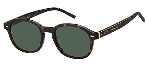 Tommy Hilfiger Gafas de Sol TH 1850/G/S Dark Havana/Green 54/21/150 hombre