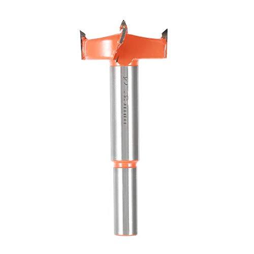 35MM Verlängerung Holzöffner verlängern Holzbearbeitung Open Lock Reibbohrer Kunststoffbohrer Verlängerung Öffnung Lock Hole Expander (Orange)