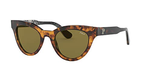 PH4157 Óculos de sol olho de gato, J.c. Tortoise/Olive, 49 mm
