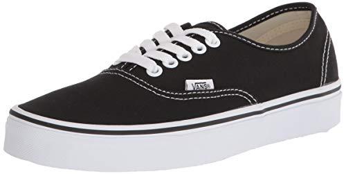 Vans Authentic Unisex Skate Trainers Shoes Black 10 B(M) US Women / 8.5 D(M) US Men