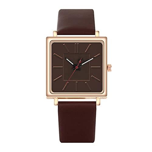 Relojes Reloj De Pulsera Cuadrado De Marca Superior para Mujer, Relojes De Pulsera De Lujo Dorados para Mujer, Reloj De Cuarzo A La Moda para Mujer, Reloj De Cuarzo para Mujer, Reloj De Café