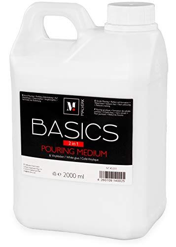 Malverk Basics -2in1- Acryl Pouring Medium & Vinylkleber 2 Liter