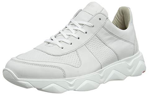 LLOYD Herren Aspen Sneaker, Weiß (Bianco/Offwhite 1), 45 EU