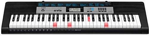 Casio LK-136AD toetsenbord zwart met voeding, verlichte toetsen