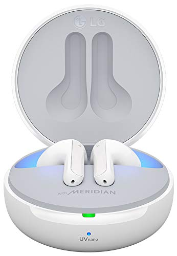 LG Tone Free Wireless Earbuds (FN7, White)