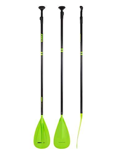 Jobe Fusion Stick 3 Piece Carbon Fibreglass SUP Paddle 2021 - Lime
