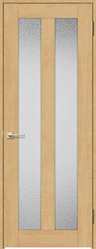 ラシッサS 標準ドア ASTH-LGG 錠付き 0620 W:734mm × H:2,023mm 吊元:右吊元 本体色/枠色:クリエペール(PP) 枠種類:ノンケーシング115(壁厚:76-100) 沓摺:なし 把手:サークルB 鍵種類:丸型シリンダー錠