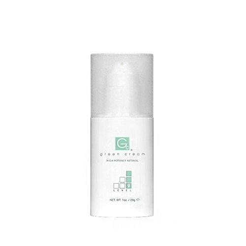 Green Cream - High Potency Retinol - Level 9-1oz. Airless Pump