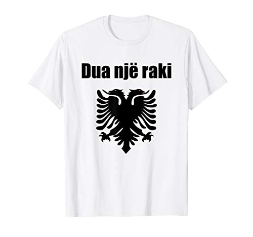I'd Like Raki In Albanian Souvenir Funny Republic Of Albania T-Shirt